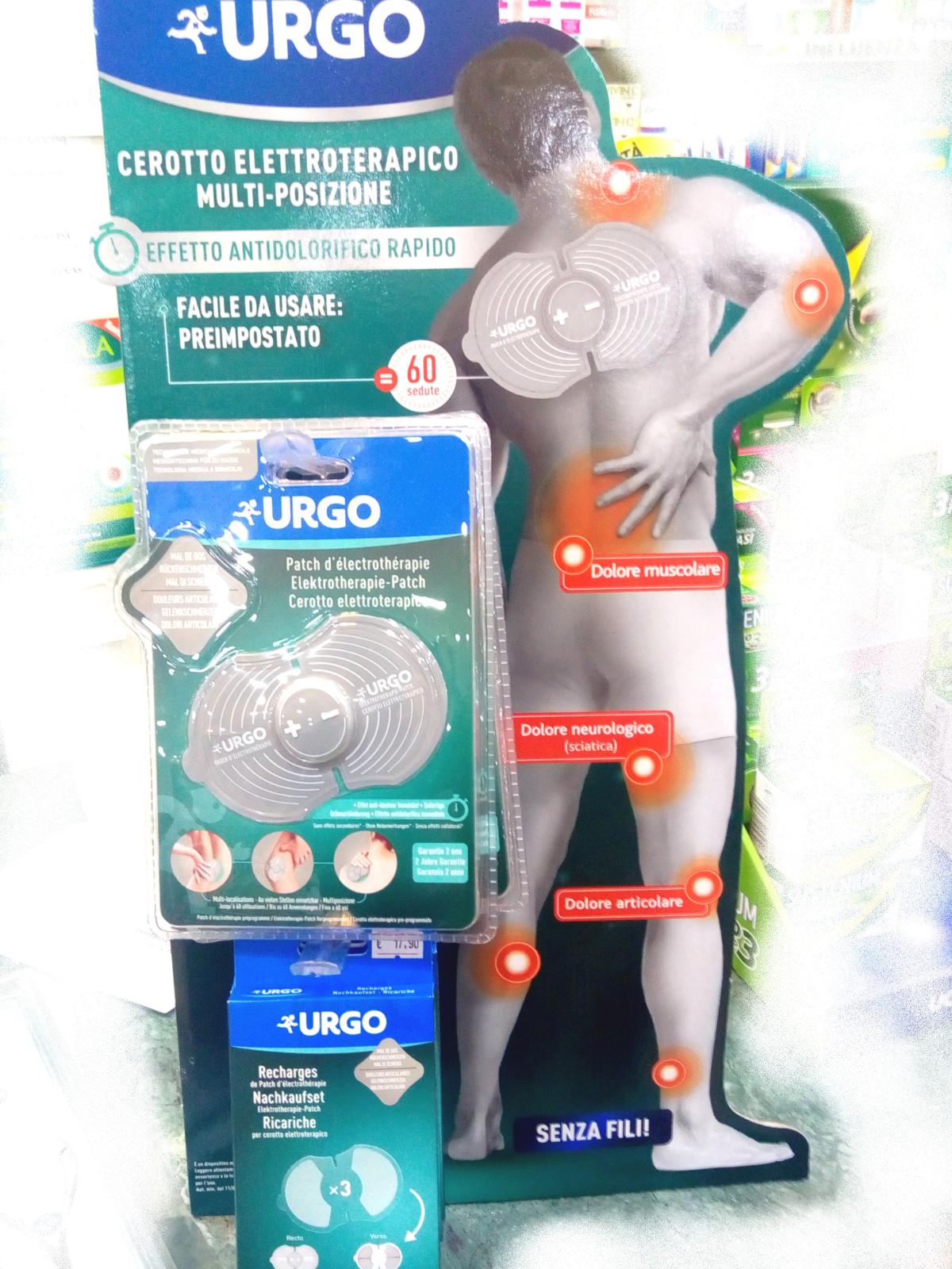 URGO: il cerotto elettroterapico senza fili! - Farmacia..