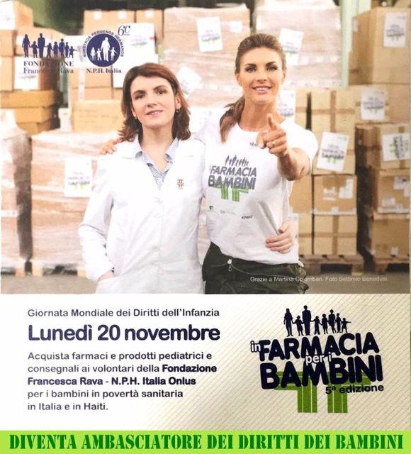 """Lunedì-20-novembre-""""in-farmacia-per-i-Bambini"""".-"""